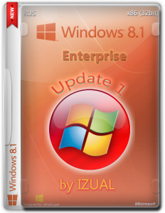 Windows 8.1 Enterprise by IZUAL Maximum v18.07.2014 (х32) (2014) [Rus]