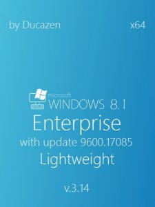 Windows 8.1 Enterprise with update 9600.17085 x64 Lightweight v.3.14 by Ducazen (2014) �������