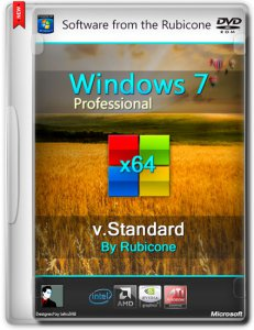 Windows 7 SP1 Professional Standard by Rubicone 6.1.7601 / v.Standard (x64) (2014) [Rus]