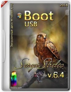 Boot USB Sergei Strelec 2014 v.6.4 (x86/x64) (Windows 8 PE) [E