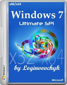 Windows 7 Ultimate SP1 by Loginvovchyk Июль с программами (x86-x64) (2014) [Rus]