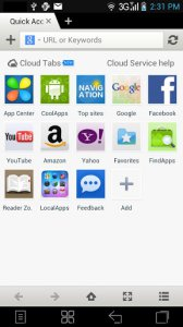 Maxthon Web Browser v4.3.0.2000 (Android)