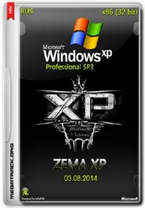 Windows XP Pro ZEMA XP SP3 x86 v.02 (RUS/2014)