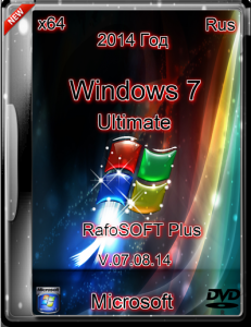 WINDOWS 7 ULTIMATE RAFOSOFT PLUS (X64) (2014) [RUS]