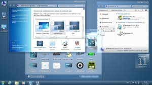 WINDOWS 7 SP1 ULTIMATE NEW LOOK NBOOK BY QMAX® (X86) (2014) [RUS]