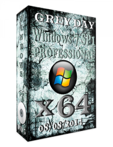 WINDOWS 7 PROFESSIONAL SP1 GREY DEY BY NOVIK (X64) (2014) [RUS]