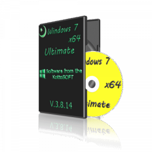 Windows7 x64 Ultimate KottoSOFT V.3.8.14 (x64) (2014) [Rus]