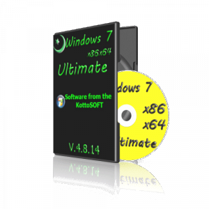 Windows7 x86 x64 Ultimate KottoSOFT V.4.8.14 (x64 х86) (2014) [Rus]