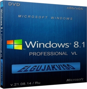 Windows 8.1 Pro Elgujakviso Edition v21.08.14 (x86-x64) (2014) [Rus]