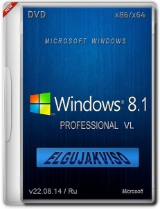 Windows 8.1 Pro Elgujakviso Edition 6.3.9600.17031 (x86/x64) (2014) [Rus]