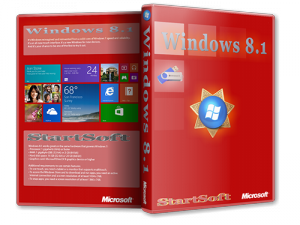Windows 8.1 Plus PE StartSoft 39 (x86-x64) (2014) [Rus]