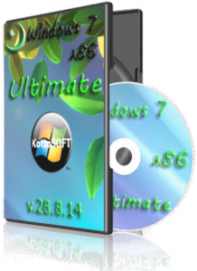Windows 7 Ultimate KottoSOFT v.28.8.14 (x86) (2014) [Rus]