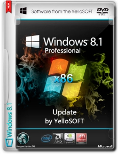 Windows 8.1 Pro Update by YelloSOFT (x86) (2014) [Rus]