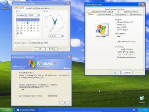 Windows XP Professional SP3 VL Sharicov (x86) (2014) [RUS|MUI]