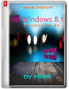Windows 8.1 Professional VL with update by EmiN (x64) (2014) [Rus]