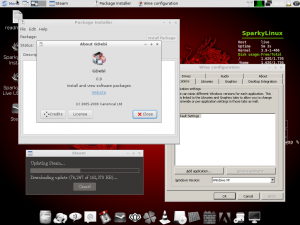 "SparkyLinux 3.4 ""GameOver"" [i486, x86-64] 2xDVD"