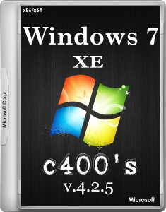 c400's Windows 7 XE v.4.2.5 (x86/x64) (2014) [RUS/ENG]