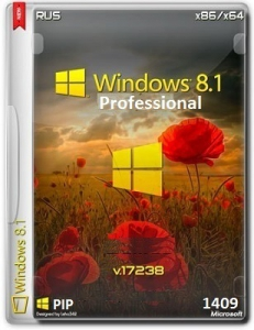 Microsoft Windows 8.1 Pro VL 17238 x86-x64 RU PIP 1409 by Lopatkin (2014) Русский