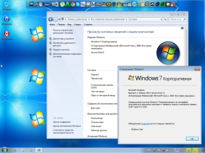 Windows 7 Enterprise SP1 � QuickStart � (x86-x64) (2014) [Rus/Eng]