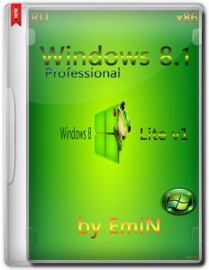 Windows 8.1 Pro AERO Lite v1 by EmiN (x86) (2014) [Rus]