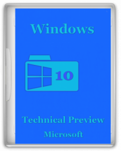 Windows 10 Technical Preview v.1.01 by Doom (x86-x64) (2014) [Rus/Eng]