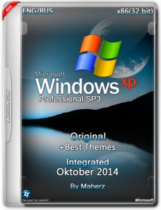 Windows XP Pro SP3 Integrated Oktober By Maherz (2014) (x86) [ENG/RUS]