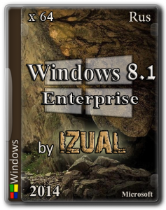 Windows 8.1 Enterprise With Update IZUAL v21.10.14 + Photoshop CC 14.1.2 Final (x64) (2014) [Rus]