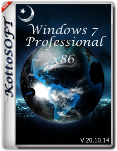 Windows7 Professional KottoSOFT V.20.10.14 (x86) (2014) [Rus]