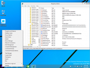 Windows 10 Technical Preview for Enterprise Build 6.4.9860 by Ducazen (x64) (2014) [Eng]