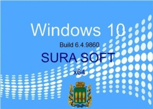 Windows 10 Technical Preview 6.4.9860 by sura soft (x64) (2014) [Eng]