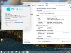 Windows 10 Enterprise Technical Preview 9860 UralSOFT (x86-x64) (2014) [Eng]