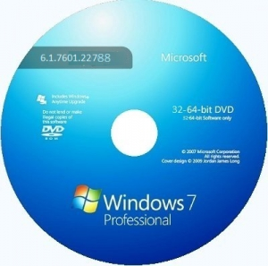 Microsoft Windows 7 Professional VL SP1 6.1.7601.22788 x86-х64 RU SM 1410 by Lopatkin (2014) Русский