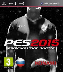 Pro Evolution Soccer 2015 [PS3] [USA] [RU/EN] [3.55][Cobra ODE / E3 ODE PRO ISO]