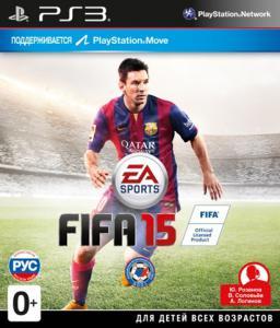 FIFA 15 [PS3] [EUR] [RU] [3.55] [Cobra ODE / E3 ODE PRO ISO]