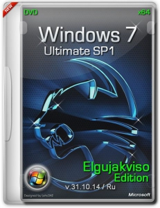 Windows 7 Ultimate SP1 Elgujakviso Edition v31.10.14 (x64) (2014) [Rus]