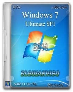 Windows 7 Ultimate SP1 Elgujakviso Edition v02.11.14 (x86-x64) (2014) [Rus]