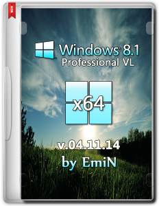 Windows 8.1 Professional Full by EmiN (x64) (2014) [Rus]