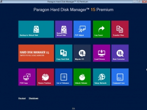 Paragon Hard Disk Manager 15 Premium 10.1.25.294 BootCD / Recovery Boot Medias [En]