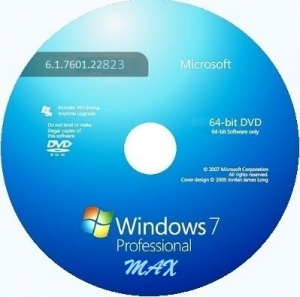 Microsoft Windows 7 Professional VL SP1 6.1.7601.22823 х64 RU MAX 1411 by Lopatkin (2014)