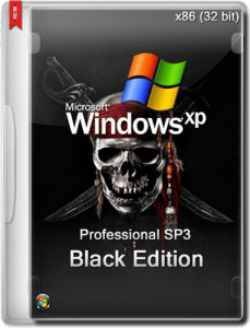 Windows® XP Professional SP3 Black Edition 15.11.14 (x86) (2014) [Rus/Eng]