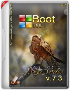 Boot USB Sergei Strelec 2014 v.7.3 (x86/x64/Native x86) (Windows 8 PE) [Ru]