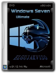 Windows 7 Ultimate SP1 Edition (2in1) by Elgujakviso v.01.12.14 (x86/x64) (2014) [Rus]