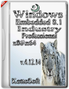 Windows Embedded 8.1 Industry KottoSoft V4.12.14 (x86 x64) (2014) [Rus]