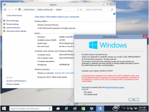 Windows 10 build 9901 (x64) (2014) [ENG]