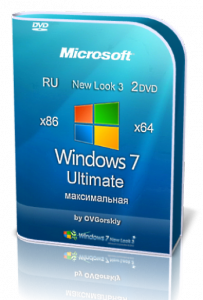Windows 7 Ultimate SP1 NL3 by OVGorskiy® 12.2014 2 DVD (x86-x64) (2014) [Rus]