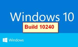 Microsoft Windows 10 RTM Escrow 10.0.10240 (x64-x86) (2015) [Rus]