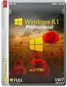 Windows 8.1 Pro VL 9600.17795.150409-1500 by Lopatkin 1507 FULL (x86-x64) (2015) [Rus]