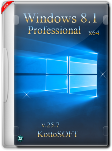 Windows 8.1 Professional KottoSOFT v.25.7.15 (x64) (2015) [Rus]