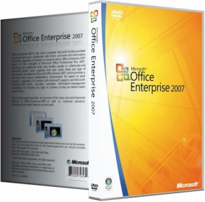 Microsoft Office 2007 Enterprise + Visio Pro + Project Pro SP3 12.0.6721.5000 RePack by KpoJIuK (20.07.2015) [Multi/Ru]