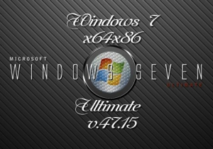 Windows 7 Ultimate mini UralSOFT v.47.15 (x86-x64) (2015) [Rus]